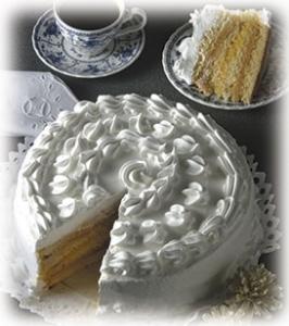 torta de manjar y huevo mol