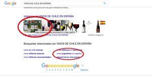 vinos chilenos en españa