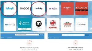 page spped de 2 empresas