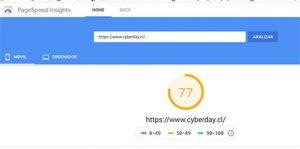 medicion pagina cyberday