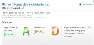 Pagina ecommerce en Chile dafiti