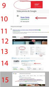 web sin fotos y candado seguridad