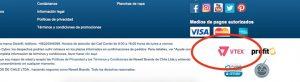 Pagina web ecommerce en Chile con Vtex